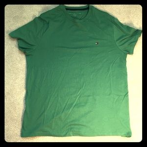 Green Tommy Hilfiger Shirt